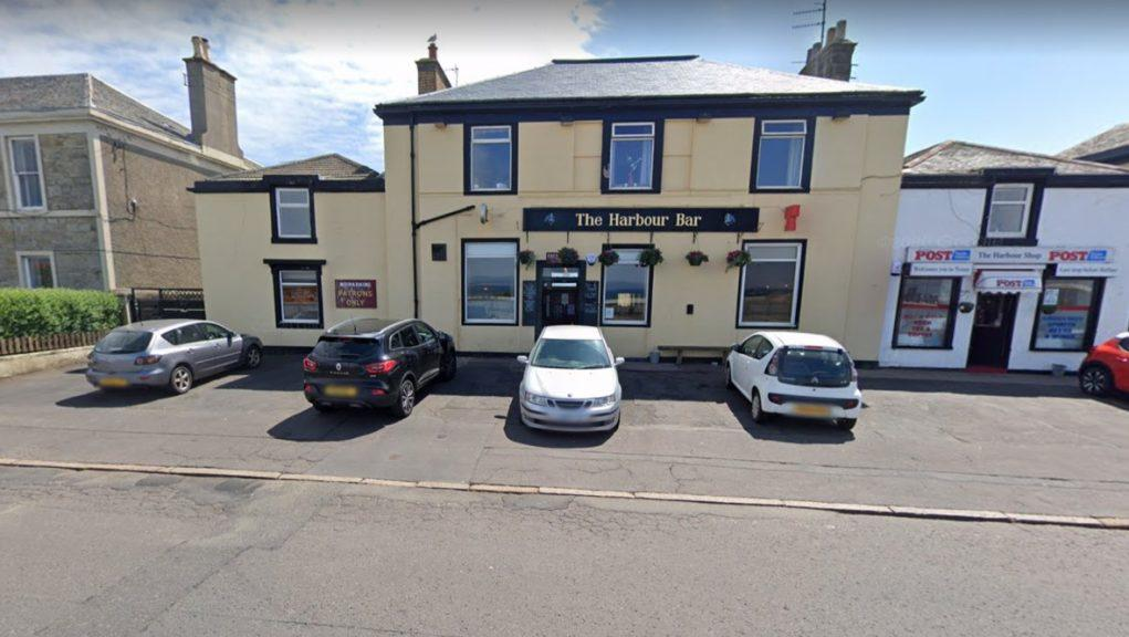 The Harbour Bar: Police were called to the pub on Thursday night.