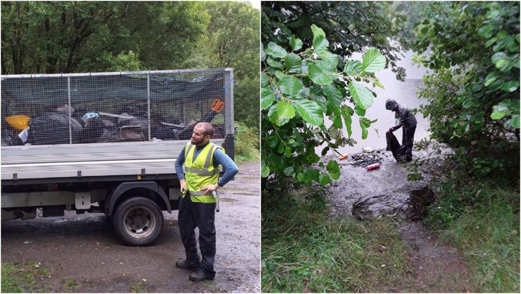 'Tidal wave of litter': Loch Lomond staff slam visitors.  @lomondtrossachs