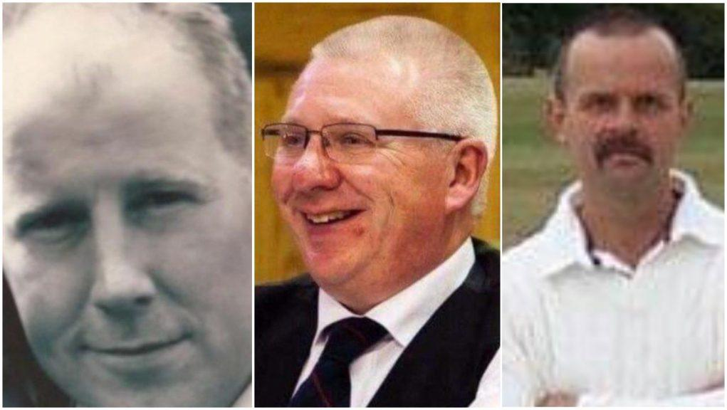 Deaths: Brett McCullough, Donald Dinnie and Christopher Stuchbury.