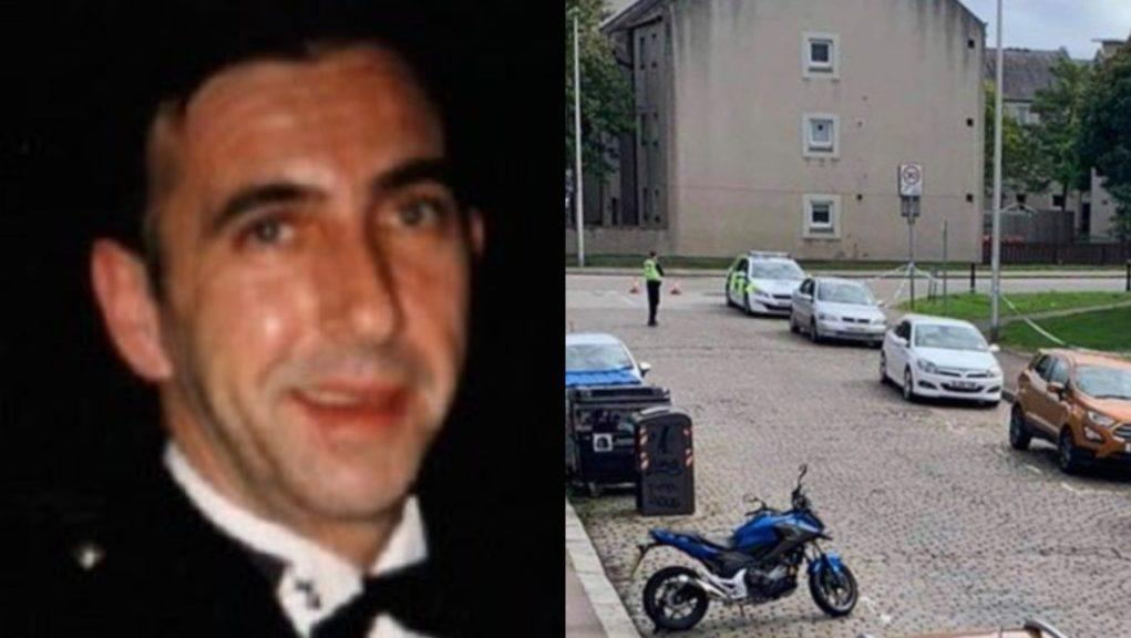 Aberdeen: Clifford Anderson died in hospital following an incident in Jasmine Terrace.