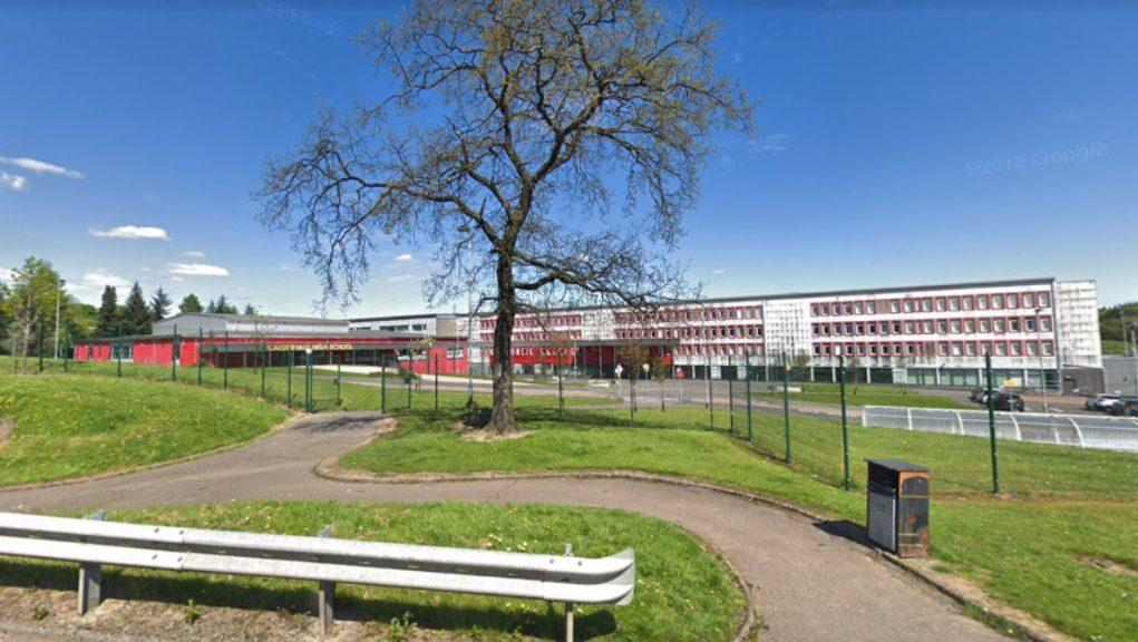 Caldervale High: NHS Lanarkshire said the school will open as normal on Monday.