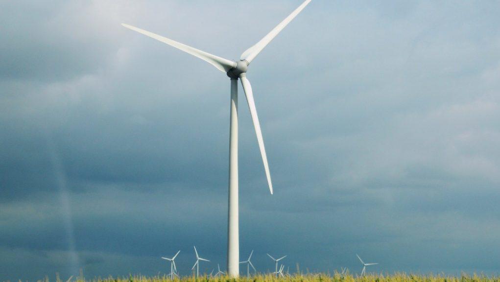 Wind farm: Plans given go ahead.