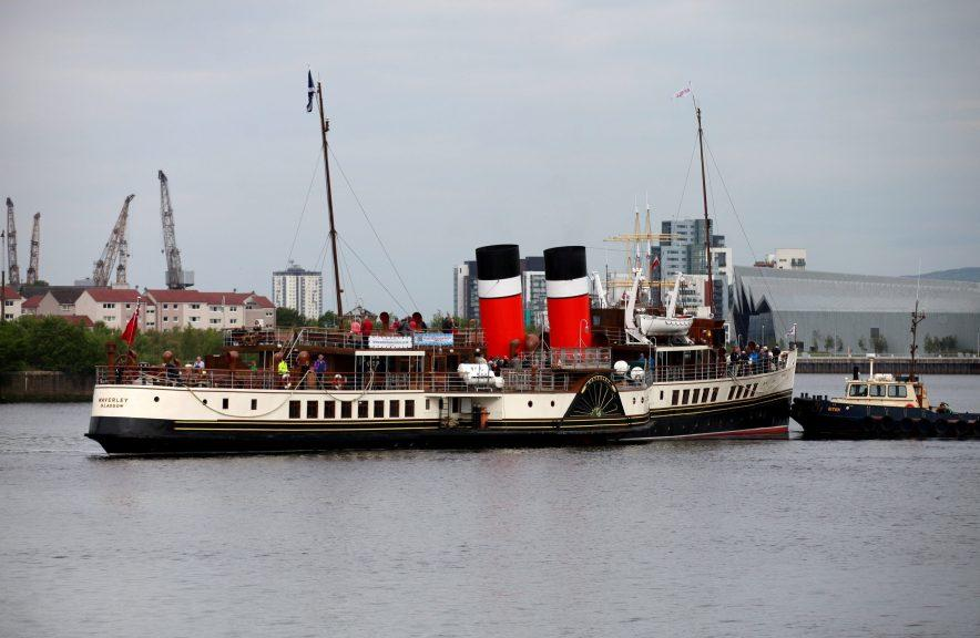 The Waverley paddle steamer is back in the water.