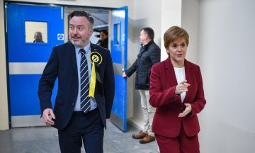 Alyn Smith Nicola Sturgeon Stirling file pic Getty