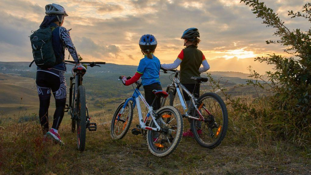 Wheelie good: Cycling Scotland said the figures were 'heartening'.