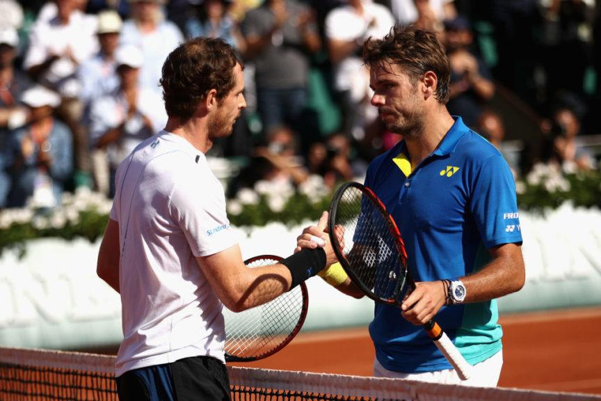 Rematch: Murray and Wawrinka at the end of that costly encounter 2017.
