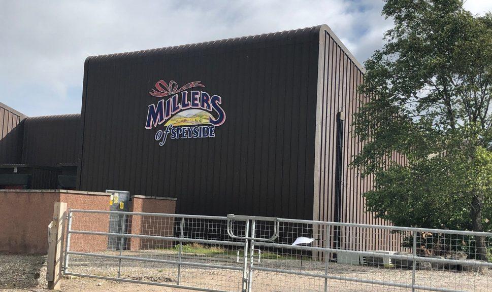 Abattoir: Millers of Speyside site in Grantown.