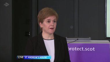 Nicola Sturgeon on STV News at Six September 23 2020