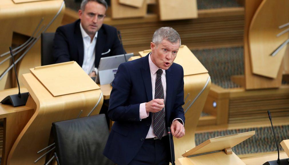 Contact tracers: Scottish Lib Dem leader Willie Rennie calls for clarity.