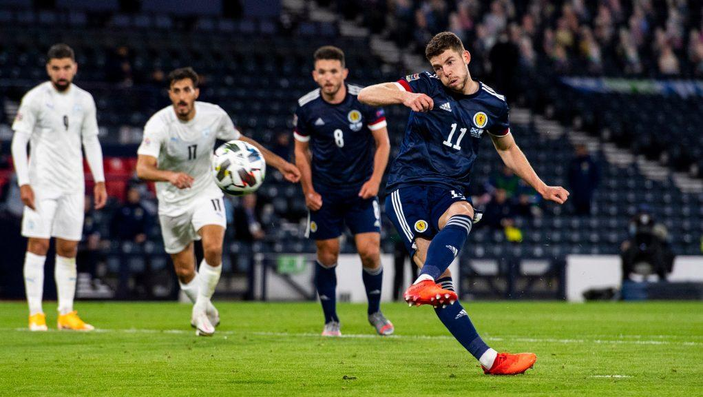 Ryan Christie opened the scoring from the penalty spot.