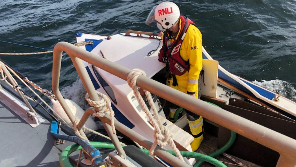 Oban RNLI: The rescue crews were alerted to the emergency near Lismore Lighthouse on Sunday afternoon.