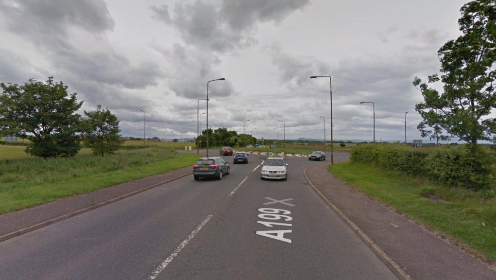 East Lothian: The crash happened on the A199.