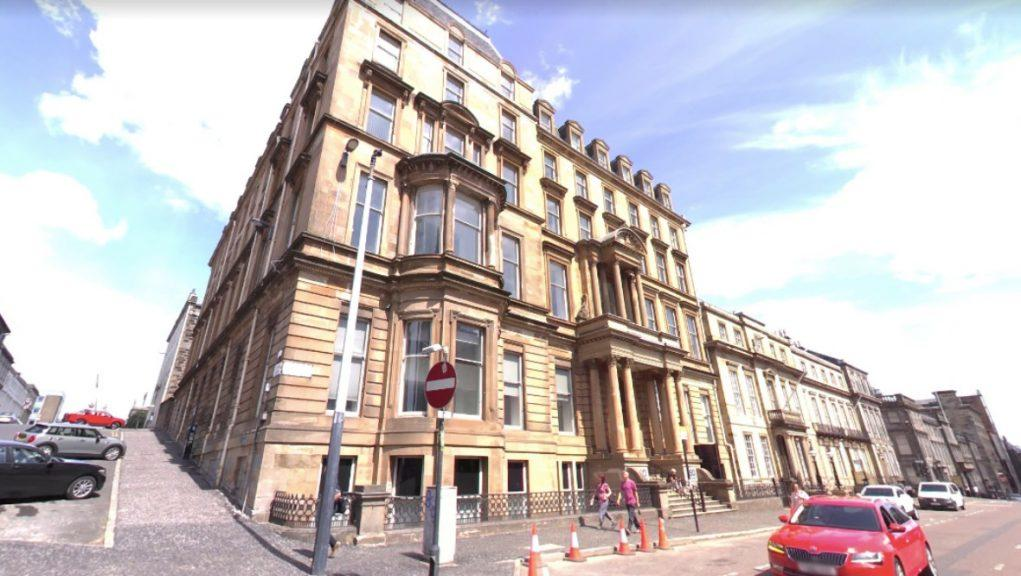 Former offices: Hotel earmarked for site in Glasgow.