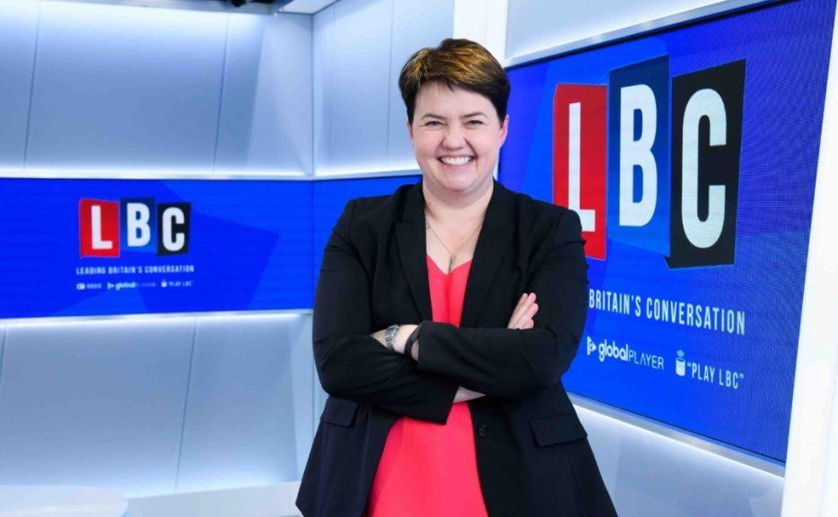 Davidson will host podcast series on LBC radio. Courtesy of LBC.