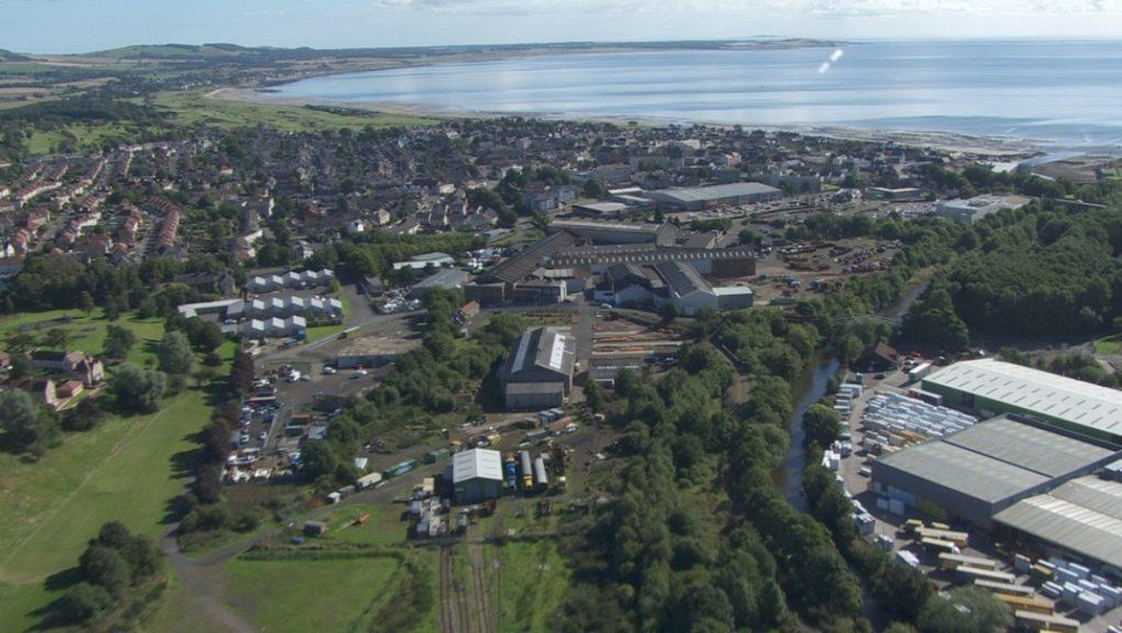 Work aims to reconnect Leven to the mainline train network.