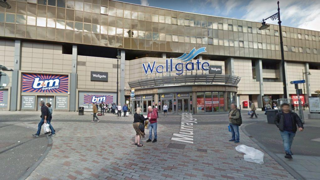Dundee: The schoolgirl was reportedly assaulted outside the Wellgate Centre.