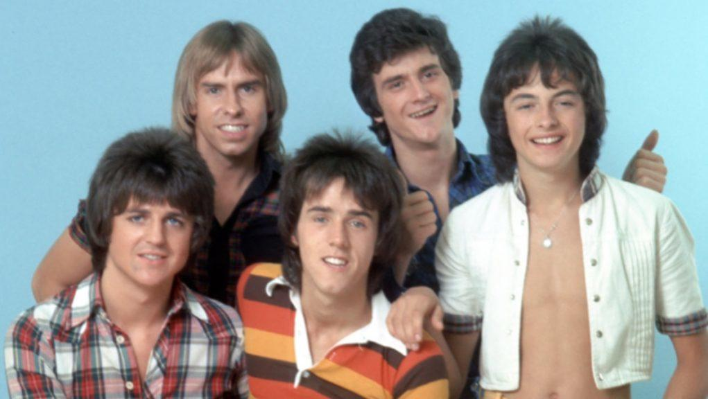 Bay City Rollers: Ian Mitchell (far right) with the band in Los Angeles in 1976.
