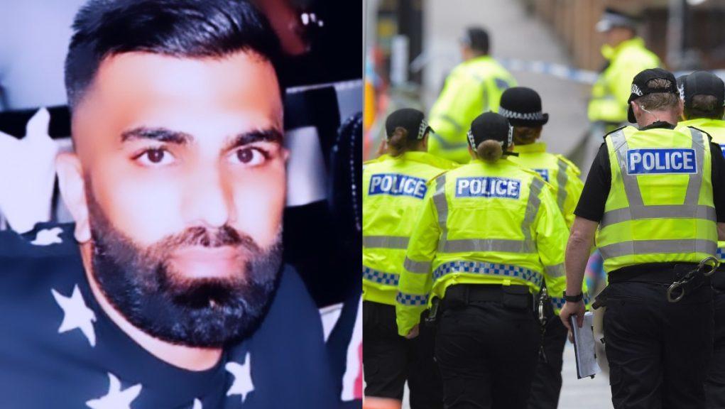 Murder inquiry: Omer Sadiq was found stabbed in a Glasgow street.