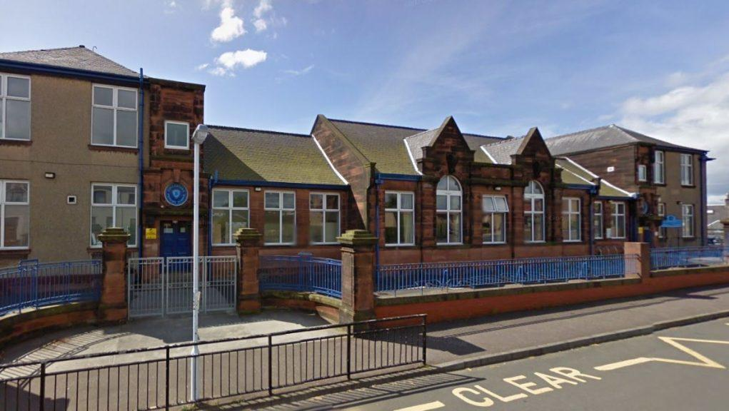 Sinclairtown Primary School: A number of pupils have been ordered to self-isolate.