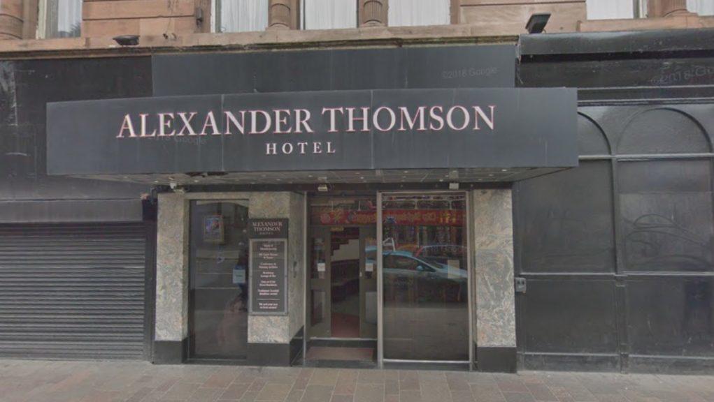 Hotel deaths: The Alexander Thomson on Argyle Street.