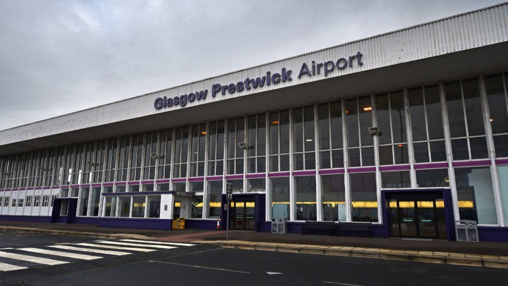 Prestwick Airport: The preferred bidder has pulled out due to the coronavirus pandemic.