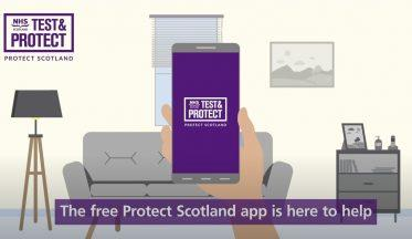 NHS Scotland Protect Scotland proximity contact tracing app
