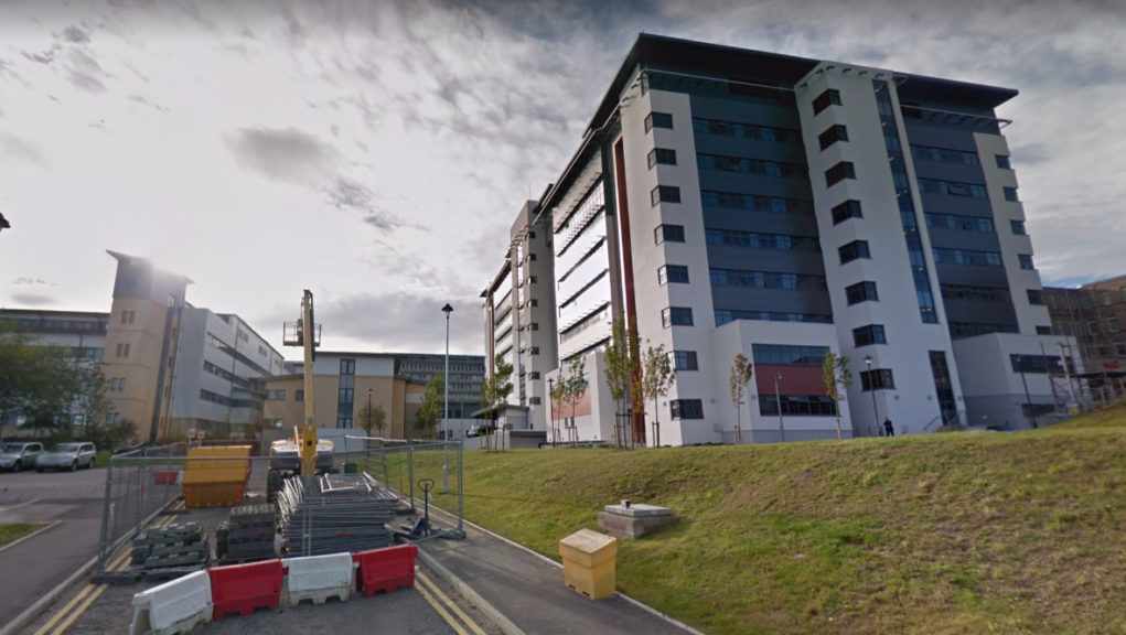 Aberdeen Royal Infirmary: A ward has been closed to new admissions and visitors.