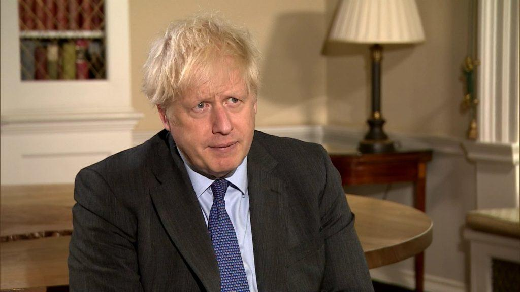 Prime Minister: Boris Johnson self-isolating after meeting with Lee Anderson.