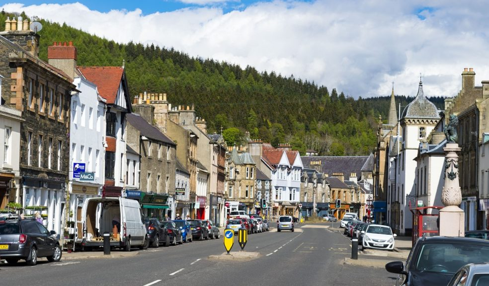Fund: Town centres to benefit from £1m pot (Peebles pictured).