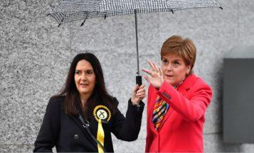 Margaret Ferrier Nicola Sturgeon 2019 general election Getty file pic