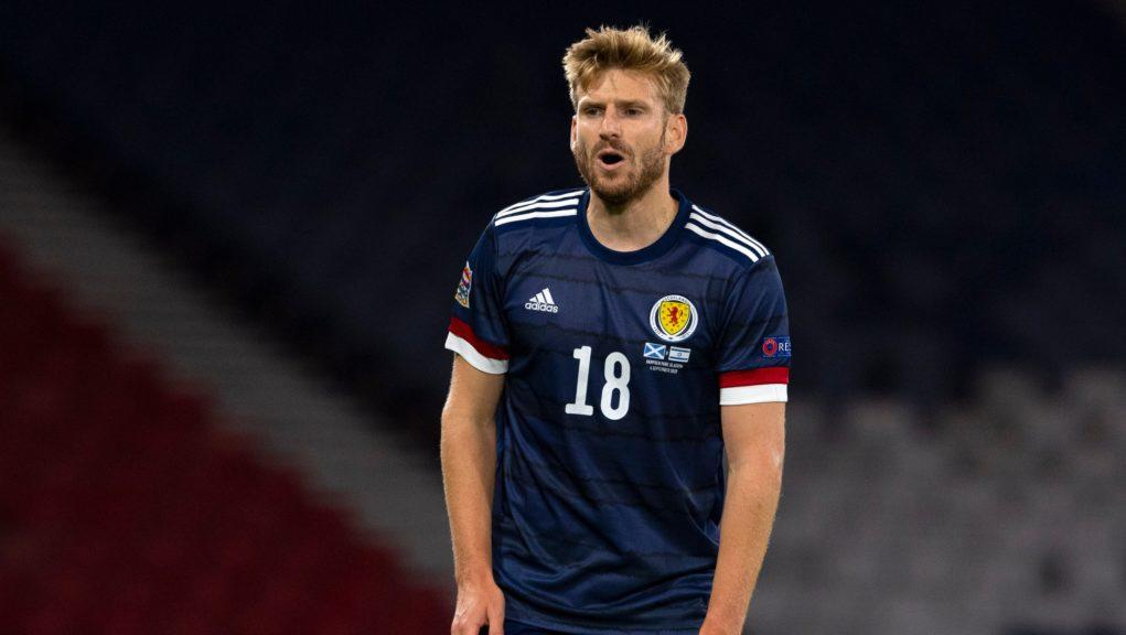 Armstrong will miss three Scotland games.