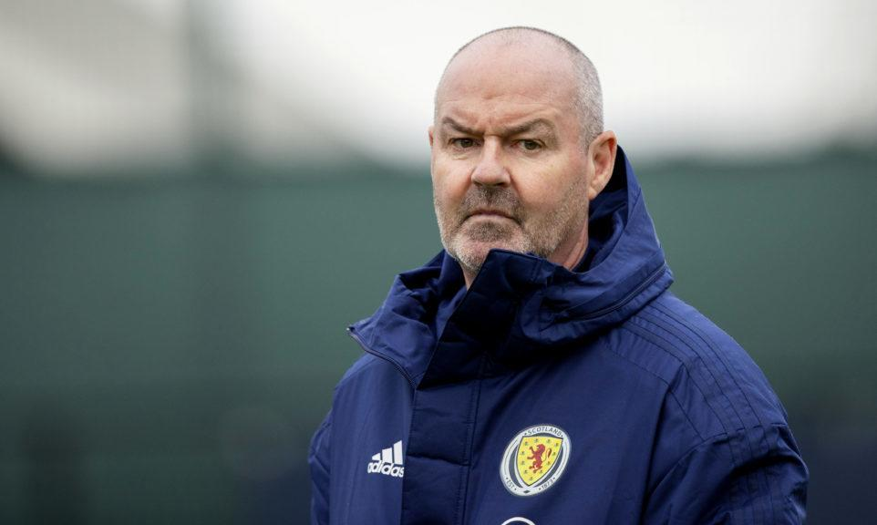 Scotland boss: Steve Clarke said players have chance to make themselves 'almost undroppable' for Serbia clash.