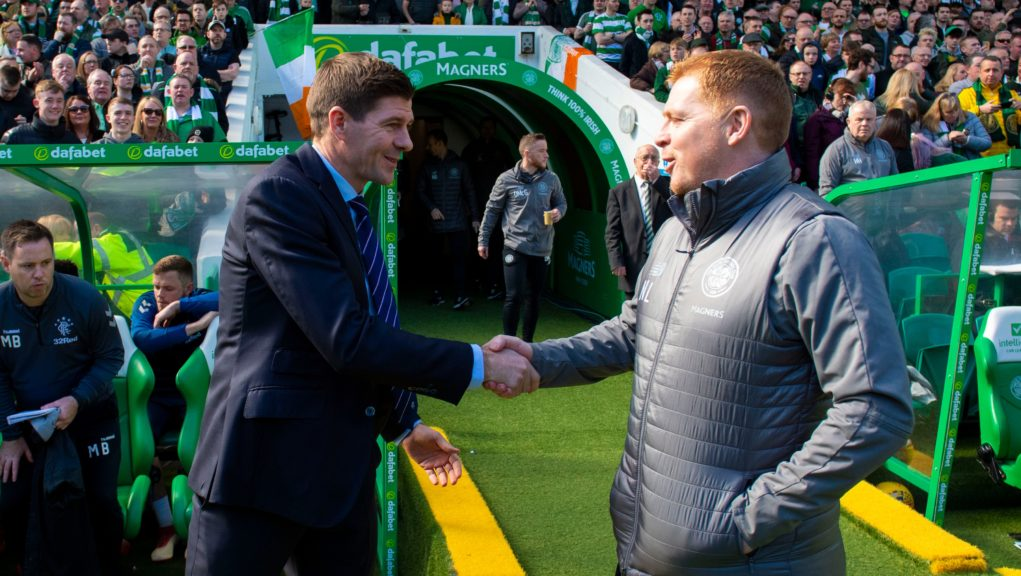 Steven Gerrard and Neil Lennon meet again on Saturday but without fans watching on.