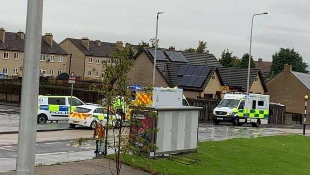 Methil: The boy was knocked down on Methilhaven Road.