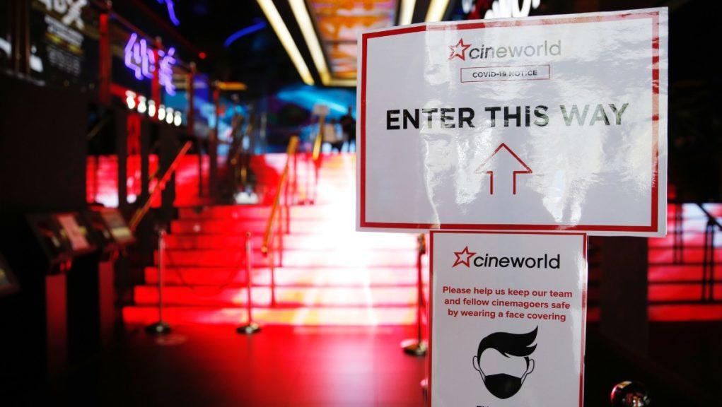 Cineworld: Company to reopen 127 cinemas in the UK.