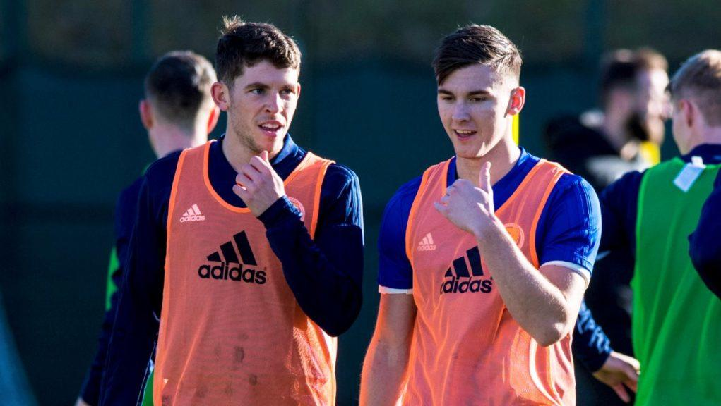 'Disappointed': Ryan Christie and Kieran Tierney both have said they observed protocols.