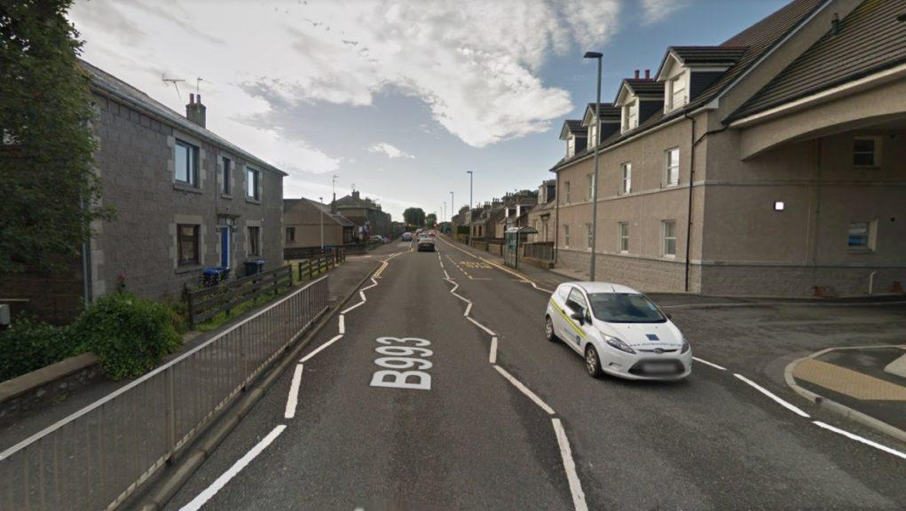 Inverurie: Police raided a property within the Port Elphinstone area.