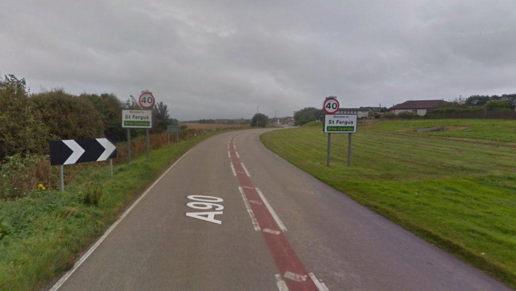 Aberdeenshire: The crash happened near to St Fergus.