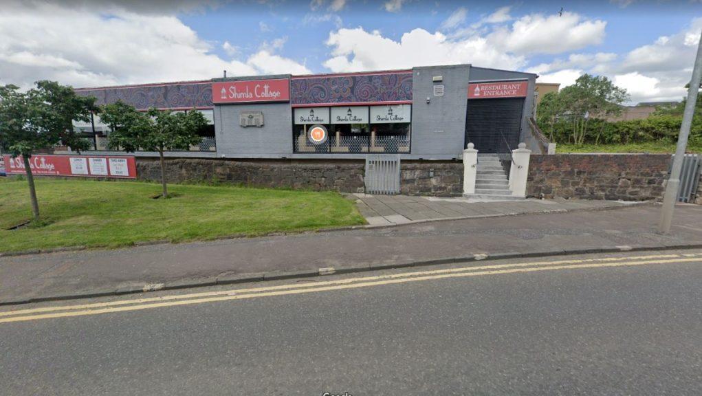 Paul Mulholland demanded cash at Indian restaurant in Coatbridge.