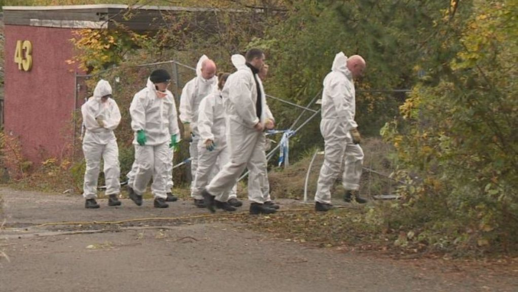 Human remains were found at industrial estate in Fife.