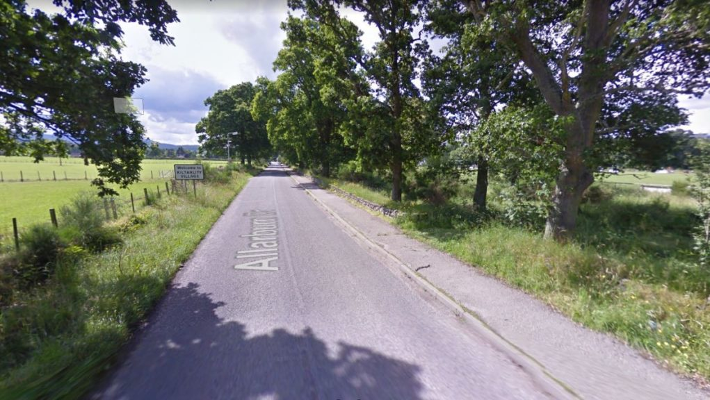 Police appeal after armed robbery near the Highland village of Kiltarlity.