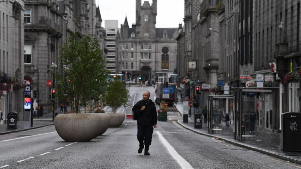 Level three: Aberdeen is one of three areas to change tiers.
