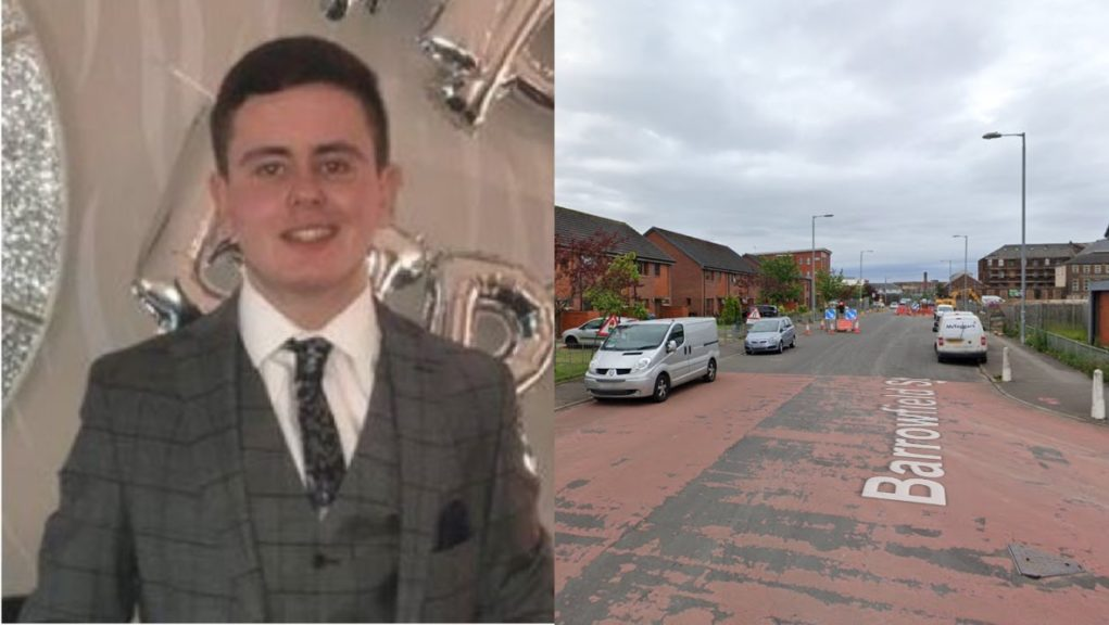 Liam Hendry was killed after being struck by Transit van.