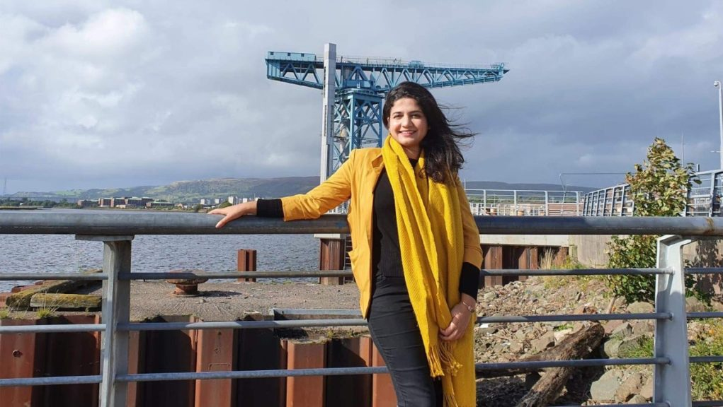 Roza Salih: Glasgow Girls campaigner hoping to secure candidacy.