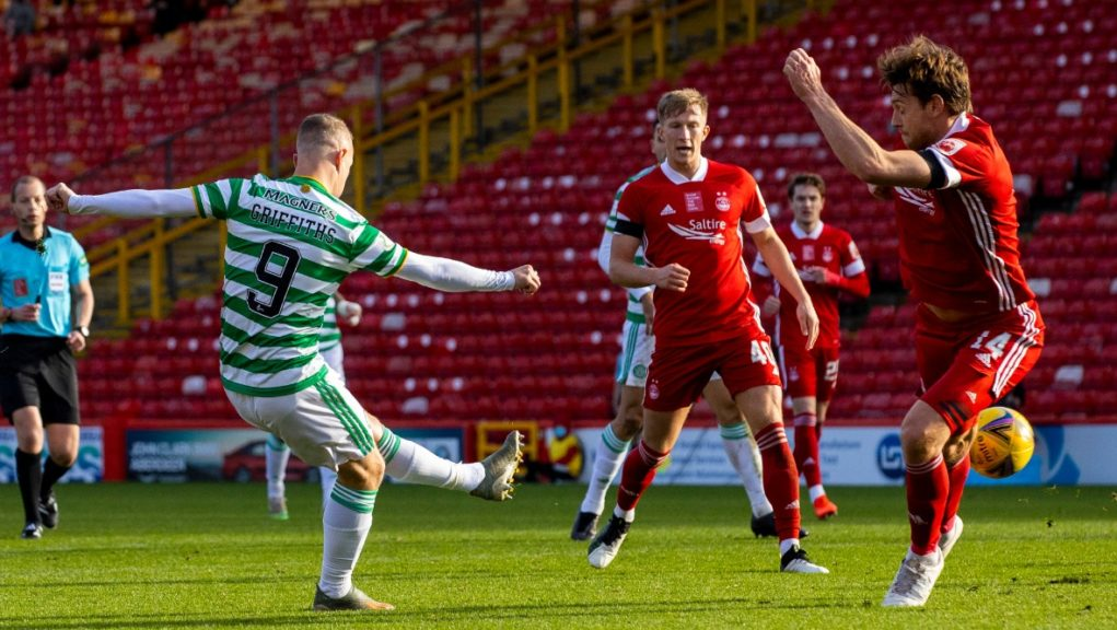 Griffiths: Celtic sub made it 2-2.