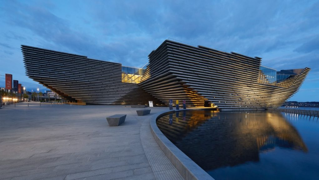 V&A Dundee: The museum will benefit from emergency funding.