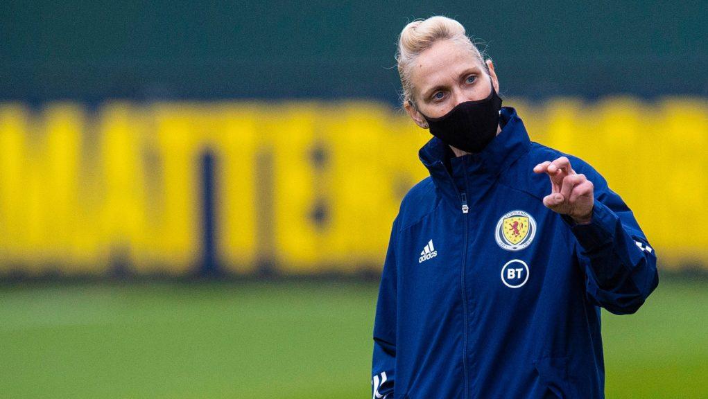 Shelley Kerr steps down as Scotland boss.