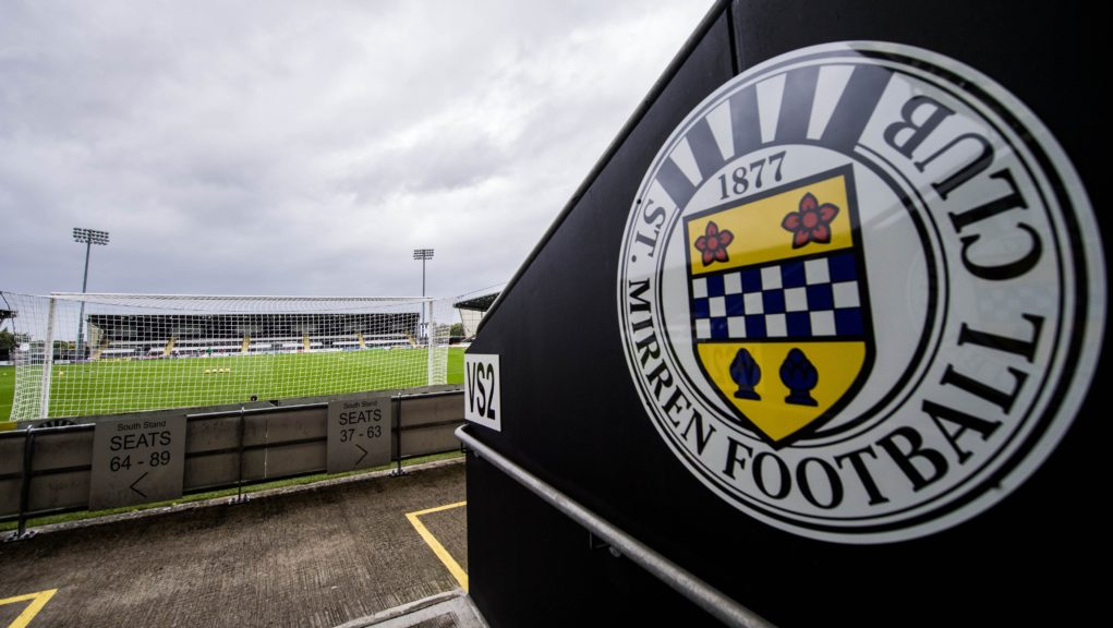 St Mirren were left without enough players to compete.