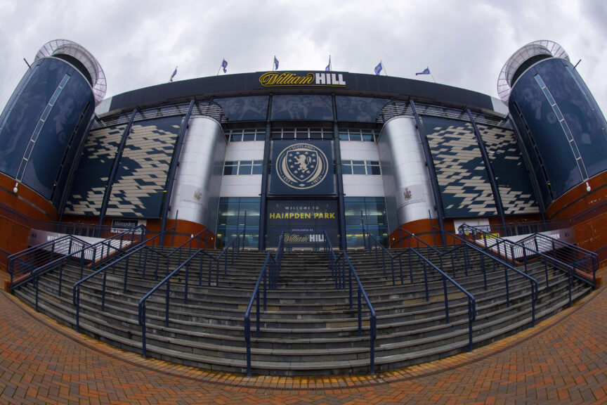 Hampden: Will host the final on May 22.