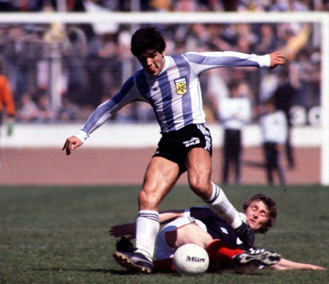 Diego Maradona died last year aged 60.